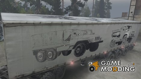 Текстура полуприцепа for Spintires 2014
