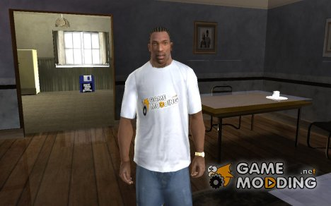 Фирменная футболка Gamemodding.net for GTA San Andreas