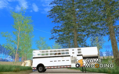 Horse Transport Trailer for GTA San Andreas