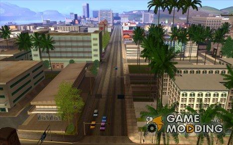 Увеличение прорисовки машин и педов для GTA San Andreas