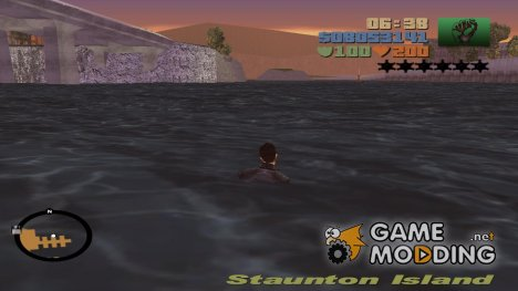 Swiming for GTA 3