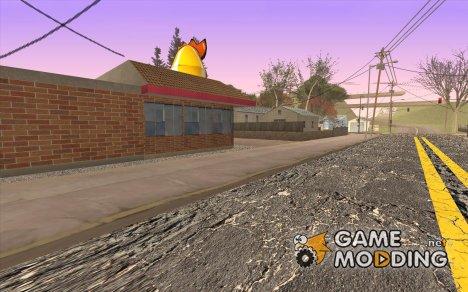 """Изменённая деревня """"Сосна Ангела"""" for GTA San Andreas"""