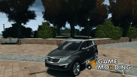 Kia Sportage 2010 Stock Final для GTA 4