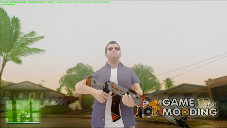 AsIImov [WARNING] AK-47 для GTA San Andreas