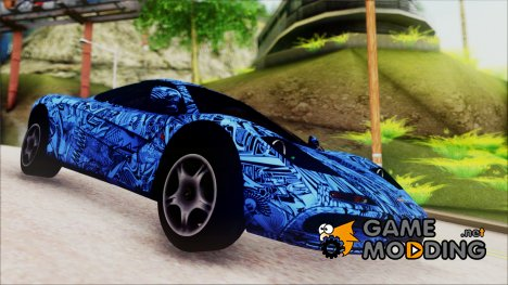 McLaren F1 Autovista for GTA San Andreas