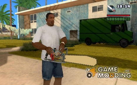 Новая бензопила for GTA San Andreas