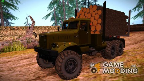 КрАЗ 255 Лесовоз for GTA San Andreas