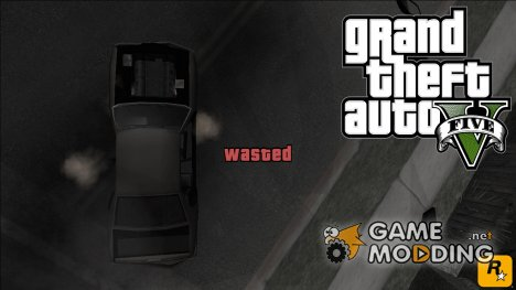 GTA V Wasted and Busted Sound для GTA San Andreas