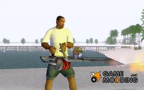 Новый огнемёт for GTA San Andreas