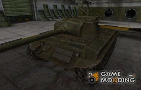 Шкурка для американского танка T25/2 for World of Tanks