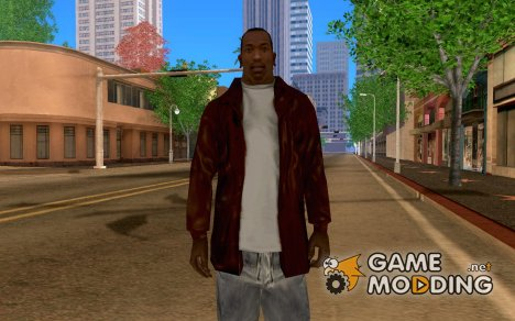 Коричневая куртка для GTA San Andreas