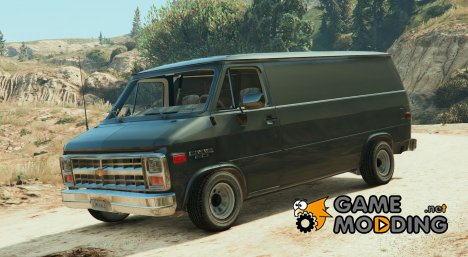 Chevrolet G20 Van Stock для GTA 5