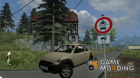 Ford Ka for Farming Simulator 2013