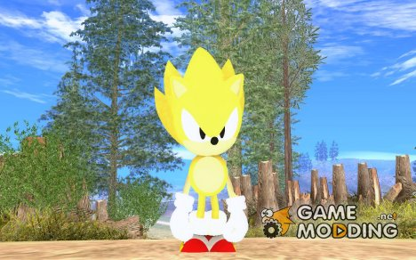 Super Sonic Classic для GTA San Andreas