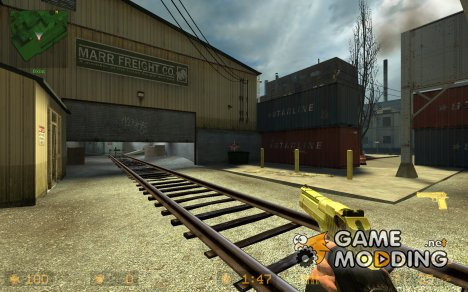 AMAKip's Gold DEAGLE for Counter-Strike Source