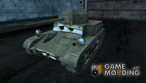 T2 lt Eskimos для World of Tanks