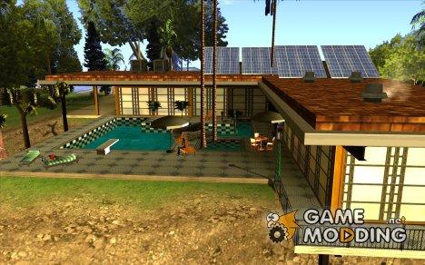 Ретекстурированный дом CJея V1 for GTA San Andreas