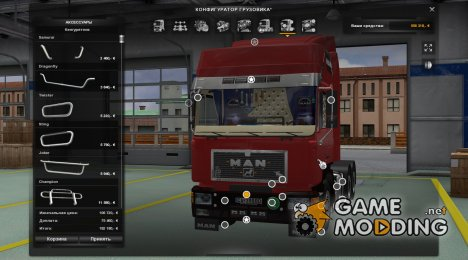 MAN F90 for Euro Truck Simulator 2
