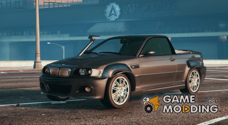 2005 BMW M3 E46 Ute / Pickup для GTA 5