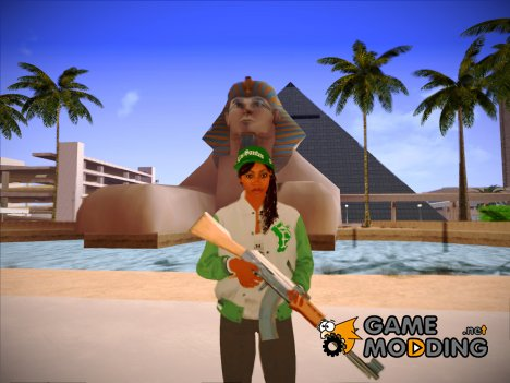 Fam Girl(GTA 5) для GTA San Andreas