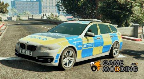 Met Police BMW 525D F11 (ANPR Interceptor) 1.1 для GTA 5