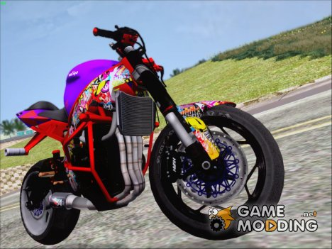 Kawasaki Ninja Zx 6R Stunter for GTA San Andreas