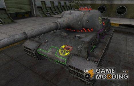 Контурные зоны пробития Löwe для World of Tanks