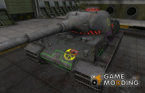 Контурные зоны пробития Löwe for World of Tanks