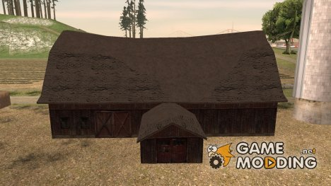 GTA V North Yankton Barn для GTA San Andreas