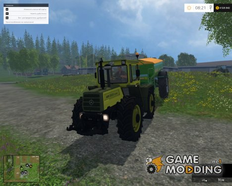 Mercedes-Benz Trac1500 for Farming Simulator 2015