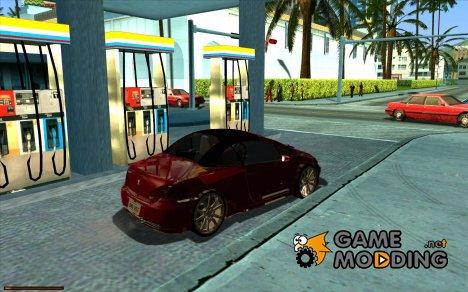 Уникальный датчик бензина for GTA San Andreas