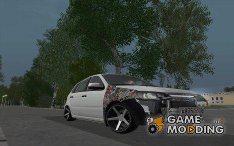 Lada kalina 2 (Непонятный стиль) for GTA San Andreas