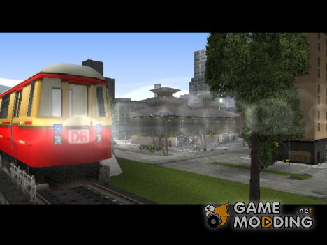 Liberty City Train DB для GTA 3