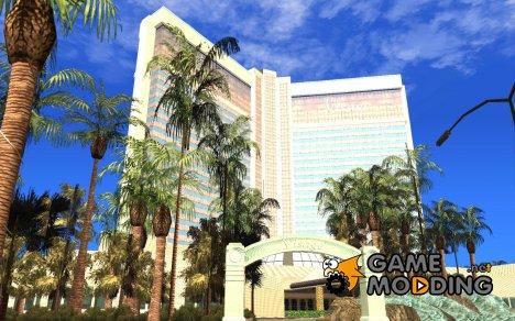 Новые текстуры для казино Визаж for GTA San Andreas