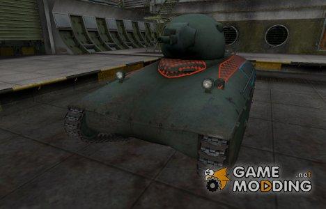 Контурные зоны пробития AMX 40 for World of Tanks