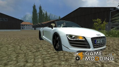 Audi R8 Spider v 1.1 for Farming Simulator 2013