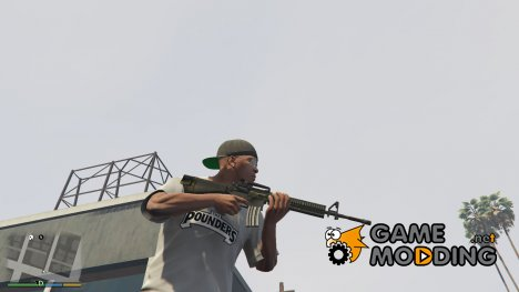 PAYDAY 2 M16A4 1.5 for GTA 5