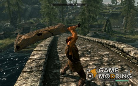 Karsa Orlong Flint Sword v1.1 для TES V Skyrim