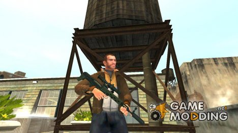 Снайперская винтовка укороченная for GTA 4