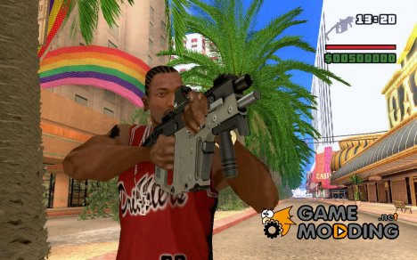 Kriss Super V with 550 MDS для GTA San Andreas
