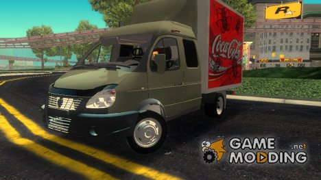 ГАЗель 33023 Coca-Cola for GTA 3