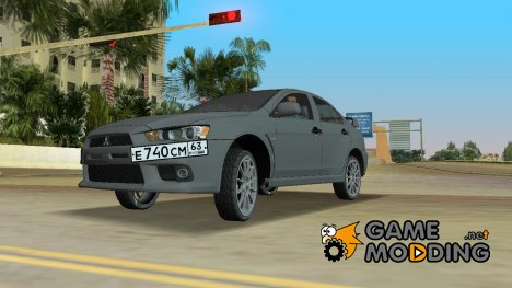 Mitsubishi Lancer Evolution X for GTA Vice City