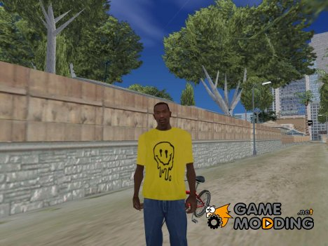 Smiley shirt for GTA San Andreas