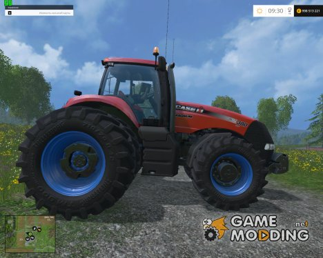 Case IH Magnum 380 Dynamic Rear Twin Wheels v1.1 for Farming Simulator 2015