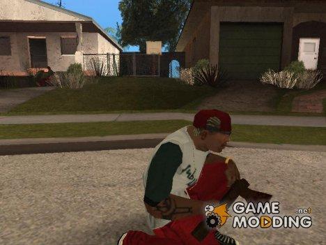 Новое хорошее оружие (Bukashechka) for GTA San Andreas