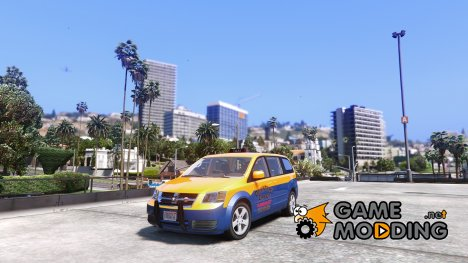 Dodge Grand Caravan Taxi 2008 for GTA 5