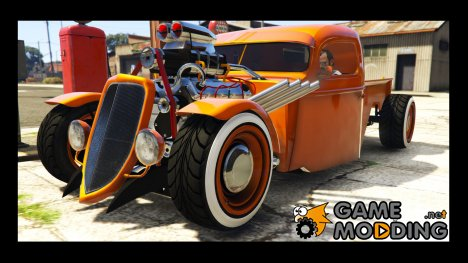 1936 Ford Pickup Hotrod Style for GTA 5