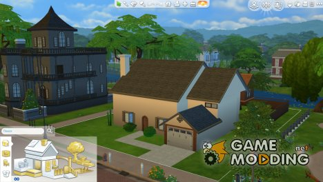 Дом Симпсонов для Sims 4