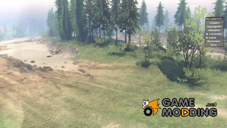 Полигон Psix19rus for Spintires 2014