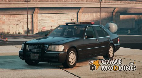 Mercedes-Benz S600 (W140) FBI для GTA 5